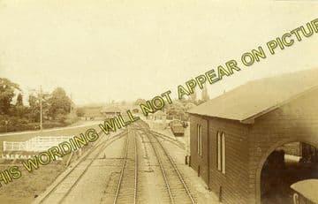 Aldermaston Railway Station Photo. Theale - Midgham. Reading to Newbury. (17)