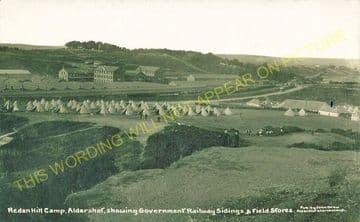 Aldershot Government Siding Railway Station Photo. Aldershot - Ash Vale. (3)