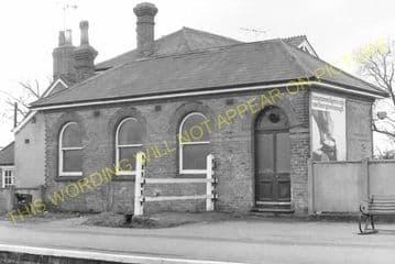 Aldershot North Camp Railway Station Photo. Farnborough - Ash and Guildford (17)