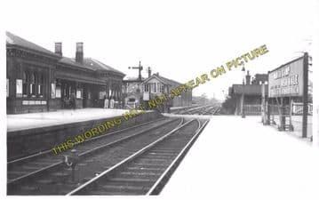 Aldershot North Camp Railway Station Photo. Farnborough - Ash and Guildford (3)