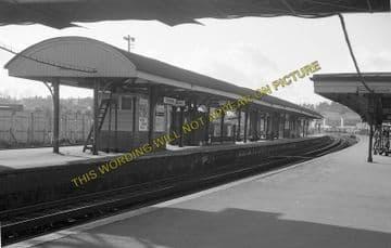 Aldershot Town Railway Station Photo.North Camp & Ash Vale - Farnham. L&SWR (12)