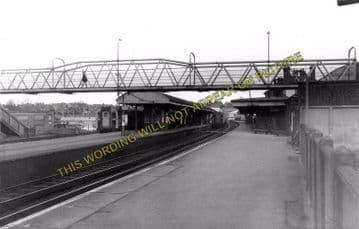 Aldershot Town Railway Station Photo.North Camp & Ash Vale - Farnham. L&SWR (3)