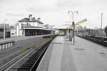 Aldershot Town Railway Station Photo.North Camp & Ash Vale - Farnham. L&SWR (5)