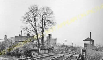 Aldin Grange Railway Station Photo. Durham - Witton Gilbert. Lanchester Line (1)..