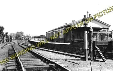 Alford Railway Station Photo. Whitehouse, Monymusk and Inveramsay Line. (1)..