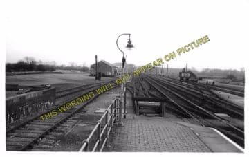 Alford Town Railway Station Photo. Willoughby - Aby. Authorpe Line. (4)