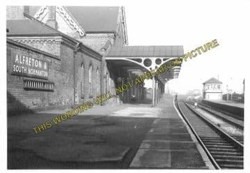 Alfreton & South Normanton Railway Station Photo. Pye Bridge - Westhouses. (3)..