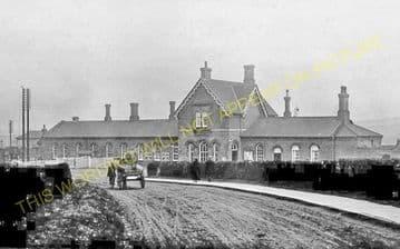 Alfreton & South Normanton Railway Station Photo. Pye Bridge - Westhouses. (4)