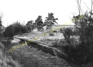 Allangrange Railway Station Photo. Redcastle - Munlochy. Muir of Ord Line. (1)