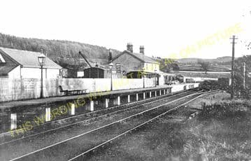 Allendale Railway Station Photo. Staward, Langley, Elrington and Hexham Line (4)