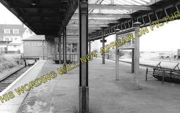 Allhallows-on-Sea Railway Station Photo. Stoke Juntion Line. Isle of Grain. (2)
