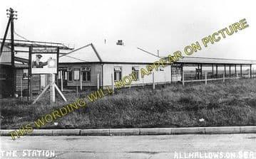Allhallows-on-Sea Railway Station Photo. Stoke Juntion Line. Isle of Grain. (3)