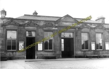 Alloa North Railway Station Photo. Cambus - Clackmannan. North British Rly. (4)