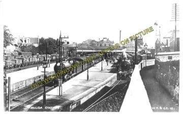 Alloa North Railway Station Photo. Cambus - Clackmannan. North British Rly. (5)