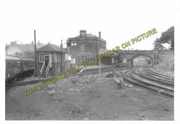 Alloa North Railway Station Photo. Cambus - Clackmannan. North British Rly. (8)
