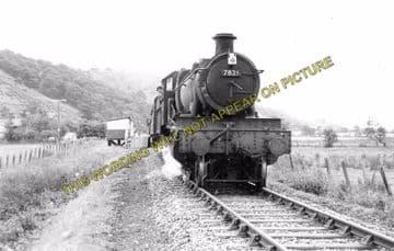 Alltddu Railway Station Photo. Tregaron - Strata Florida. Aberystwyth. (2)