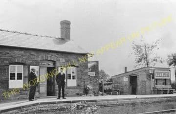 Almeley Railway Station Photo. Eardisley - Lyonshall. Titley Line. GWR. (5)