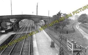 Alne Railway Station Photo. Tollerton - Raskelf and Easingwold Branch. (2)