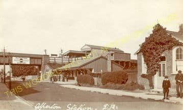 Alperton Railway Station Photo. Park Royal - Sudbury. Ealing to Harrow Line. (7)