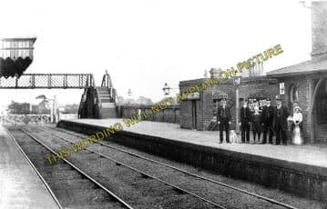 Alresford Railway Station Photo. Wivenhoe - Thorington. Clacton and Frinton. (2)..