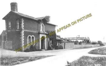 Alresford Railway Station Photo. Wivenhoe - Thorington. Clacton and Frinton. (3)