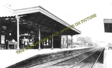 Alsager Railway Station Photo. Harecastle - Radway Green. Crewe Line. (2)