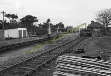 Altnabreac Railway Station Photo. Forsinard - Scotscalder. Georgemas Line. (10)