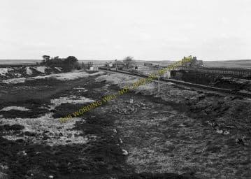 Altnabreac Railway Station Photo. Forsinard - Scotscalder. Georgemas Line. (11)