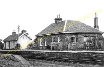 Altnabreac Railway Station Photo. Forsinard - Scotscalder. Georgemas Line. (13)