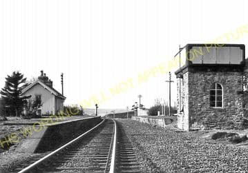 Altnabreac Railway Station Photo. Forsinard - Scotscalder. Georgemas Line. (15)