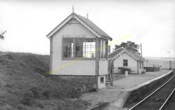 Altnabreac Railway Station Photo. Forsinard - Scotscalder. Georgemas Line. (17)