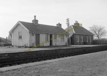 Altnabreac Railway Station Photo. Forsinard - Scotscalder. Georgemas Line. (5)