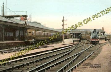Altrincham & Bowdon Railway Station Photo. Hale - Timperley. MSJ&A. (2)