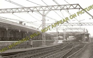 Altrincham & Bowdon Railway Station Photo. Hale - Timperley. MSJ&A. (3)