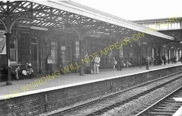 Altrincham & Bowdon Railway Station Photo. Hale - Timperley. MSJ&A. (30)