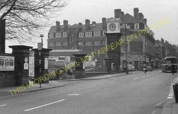 Altrincham & Bowdon Railway Station Photo. Hale - Timperley. MSJ&A. (37)