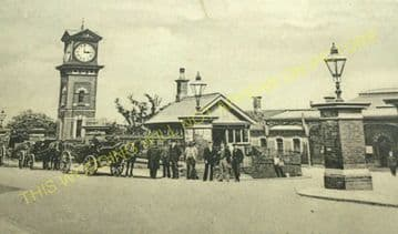 Altrincham & Bowdon Railway Station Photo. Hale - Timperley. MSJ&A. (43)