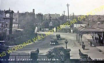 Altrincham & Bowdon Railway Station Photo. Hale - Timperley. MSJ&A. (45)