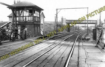 Altrincham & Bowdon Railway Station Photo. Hale - Timperley. MSJ&A. (5)