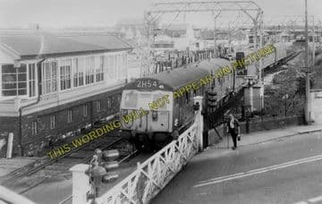 Altrincham & Bowdon Railway Station Photo. Hale - Timperley. MSJ&A. (8)