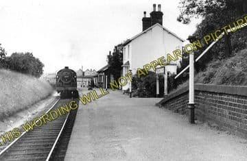 Alvechurch Railway Station Photo. Barnt Green - Redditch. Alcester Line. (1)..