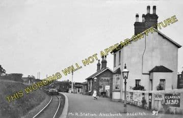 Alvechurch Railway Station Photo. Barnt Green - Redditch. Alcester Line. (5)