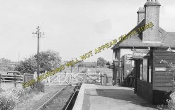 Alverstone Railway Station Photo. Newchurch - Sandown. Merstone Line. (4)