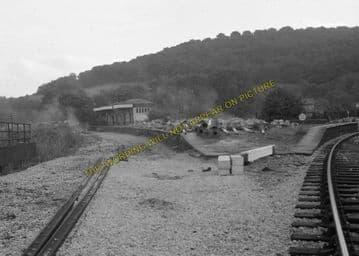 Ambergate Railway Station Photo. Belper to Wingfield & Whatstandwell Lines (12)