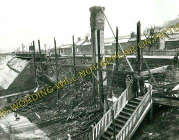 Ambergate Railway Station Photo. Belper to Wingfield & Whatstandwell Lines (21)