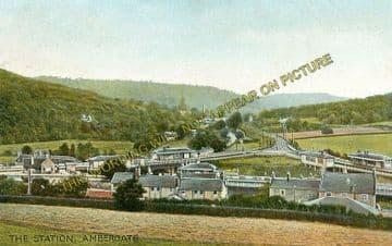 Ambergate Railway Station Photo. Belper to Wingfield & Whatstandwell Lines (22)
