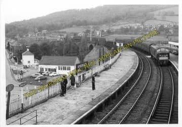 Ambergate Railway Station Photo. Belper to Wingfield & Whatstandwell Lines (24)