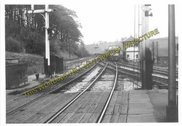 Ambergate Railway Station Photo. Belper to Wingfield & Whatstandwell Lines (27)