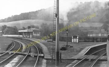 Ambergate Railway Station Photo. Belper to Wingfield & Whatstandwell Lines (30)