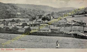 Ambergate Railway Station Photo. Belper to Wingfield & Whatstandwell Lines (32)
